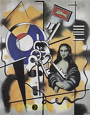 Fernand Leger - Mona Lisa with keys.jpg