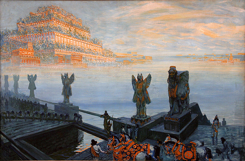 Centre for Modern and Contemporary Art, Veletrzni  kupka babylon.jpg