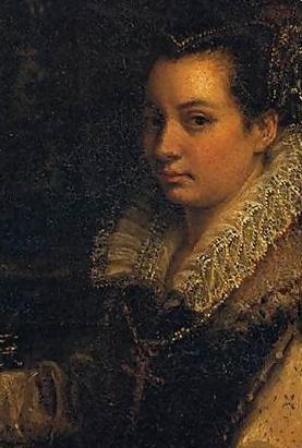 autoportret detaliu - Lavinia Fontana.JPG