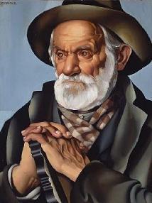 Lempicka - Le paysan 1937 -particulara.JPG
