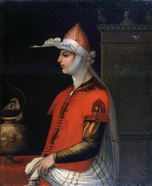 n.14 Roma Galleria Spada - Cleopatra - Lavinia Fontana 1585.JPG