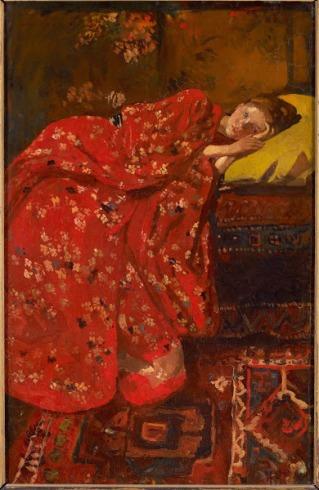 breitner - girl in red kimono.jpg