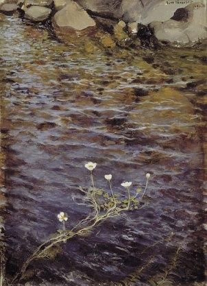 Eero Jarnefelt - Pond Water Crowfoot - 1895 - Ateneum Art Museum.jpg