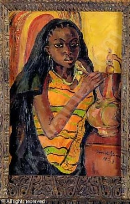 stern-irma-1894-1966-gbr-zaf-a-zanzibar-woman-with-a-brass-979062.jpg