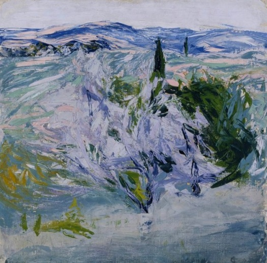 Landscape from Tuscany ; Olive Grove, 1908.jpg