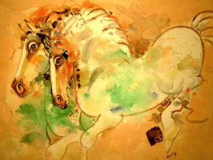 3- nasser ovissi - yellow horses.jpg