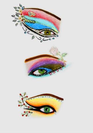 05-Shirin-Aliabadi_Eye-Am-A-Flower_2009_Pencil-and-glitter-on-paper_30x21cm.jpg
