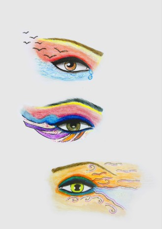 06-Shirin-Aliabadi_Eye-Am-A-Teardrop_2009_Pencil-and-glitter-on-paper_30x21cm.jpg
