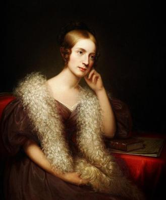 Lady Caroline Louise Pratt Bartlett paint by the American artist Rembrandt Peale (1778-1860) - Birmingham Museum of Art.jpg
