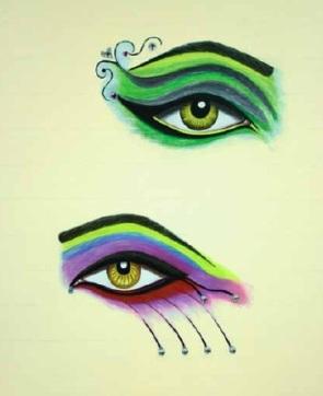 Shirin Aliabadi - eye love black 2009.jpg