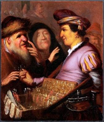rembrandt -  ealier period - brillenverkopen.jpg