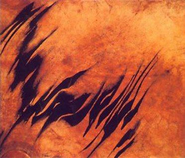 4 -Sadegh Tabrizi-oil-on-parch 2001.jpg