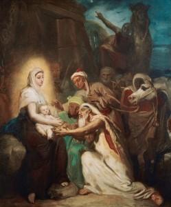 Chasseriau-Adoration-of-magi-Marie-Cantacuzene-as-Holy-Virgi.jpg