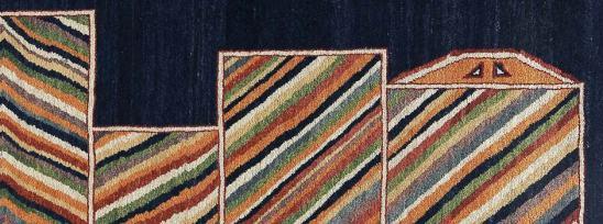 Parviz-Tanavoli-iranian-pastoral-rug-pattern.jpg
